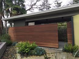 fabulous design modern fences ideas features brown color wooden