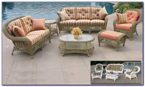 outdoor wicker furniture cushions sets patios home design