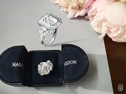 harry winston engagement ring harry winston 27 carat custom designed engagement ring