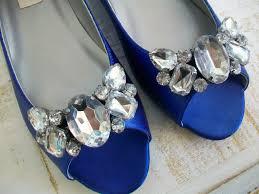 wedding shoes rhinestones flat blue wedding shoes with rhinestones ipunya