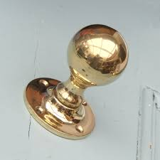 Brass Door Handles Polished Brass Round Door Knobs