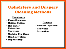 Upholstery Dry Cleaner Carpet And Upholstery Certification Ppt Download