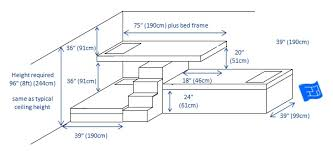 Plans To Build A Bunk Bed With Stairs by Built In Bunk Beds