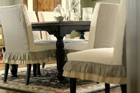 dining room slip covers furniture chic parsons chairs for dining room furniture ideas