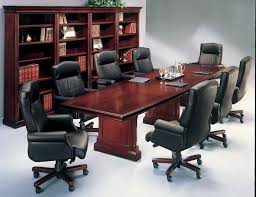 room table leather meeting chairs executive boardroom tables with