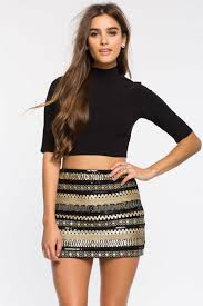 sequin skirt women s skirts sparkling geo sequin skirt a gaci