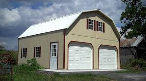 Two Story Barn Plans by 24x24 2 Story Barn Garage Youtube