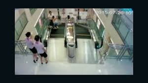 crushed by elevator chinese mother killed riding escalator cnn