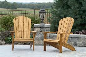 super cool pine patio furniture amish wood fan back chair from