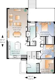 Floor Plan Modern House 38 Best Casas Images On Pinterest Architecture Small Houses And
