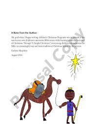a simple christmas program u2013 country church press