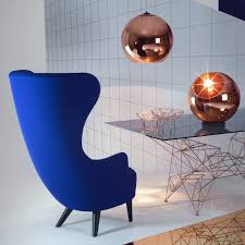 Blue Velvet Wingback Chair Wingback Chair By Tom Dixon U2014 Haus