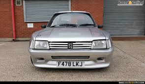 peugeot pre owned peugeot 205 gti dimma performance u0026 trackday cars for sale at