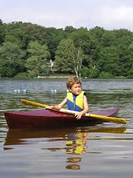 building a child sized kayak from a single sheet of plywood make