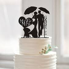 dog wedding cake toppers online shop wedding cake topper mr and mrs last name