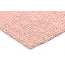 Raspberry Pink Rug Hakalau Pale Pink Chunky Jute Rug