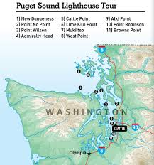 Tacoma Washington Map by Explore 11 Washington Lighthouses On A Puget Sound Road Trip Www