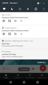 google play services v10 can show a notification with player