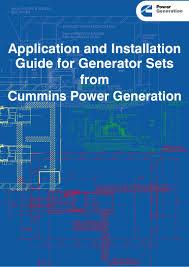 86548526 installation for generator set
