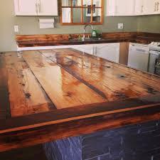 diy kitchen countertop ideas best diy countertops barn wood countertop 9273 baytownkitchen diy