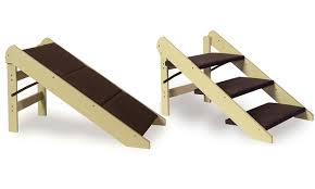 convertible stairs ramp for small dogs and cats groupon