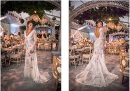 kevin hart wedding kevin hart s eniko parrish wore two vera wang wedding gowns