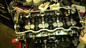 part 3 of 10 engine teardown rebuild 1994 toyota camry engine