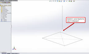 basics of the sweep feature in solidworks