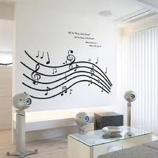Musical Note Decorations Music Decorations For Home Music Is Life Quote Wall Decal Great