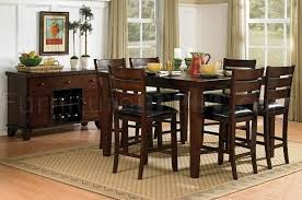 triangle dining table cloth black wood dining table chairs set