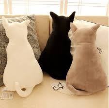 Home Decor Cushions Accessories Back Of Cat Art Cushions 50 Cat Themed Home Decor