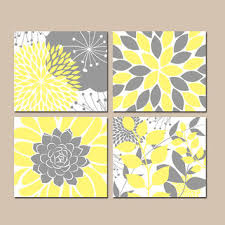 Yellow And Grey Home Decor Wall Decoration Yellow And Gray Wall Decor Lovely Home