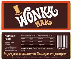 wonka bars where to buy willy wonka inspired birthday candy bar wrappers