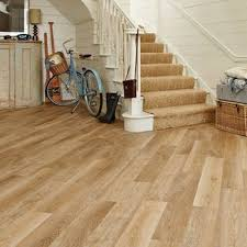 kp94 pale limed oak hallway flooring tile karndean