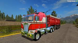 new kenworth cabover kenworth k100 cabover v1 0 for fs 17 download fs 17 mods for