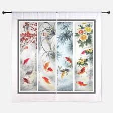 Asian Curtains Asian Window Curtains Drapes Asian Curtains For Any Room
