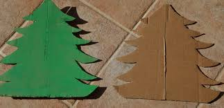 cardboard christmas tree family balance sheet