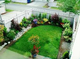 Backyard Decorating Ideas Small Backyard Landscaping Designs Of Well Small Space Backyard