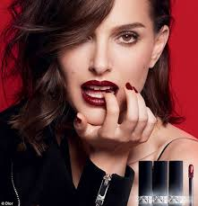 Makeup Schools In Va Natalie Portman In New Dior Make Up Campaign Daily Mail Online