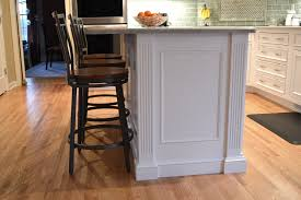 kitchen islands with columns kitchen design in cross river ny traditional cabinets ackley