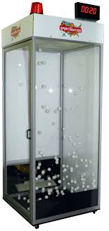photo booth machine hardside money blowing machine booths and cubes by promoquip