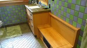 craftsman style bathroom cabinets youtube