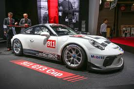 porsche gtr 2017 2017 porsche 911 gt3 cup racer launched in paris autocar