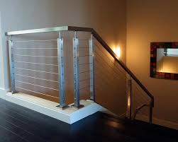 Cable Banister Discrete Stainless Steel Cable Railing Ends Look Great Mba Deck
