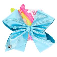 cheap hair bows jojo siwa large turquoise glitter signature hair bow s