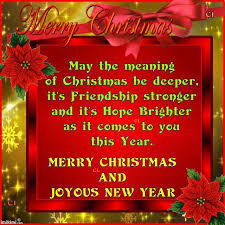merry quotes for friends we wish you a merry