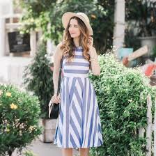 striped sundress stylegawker