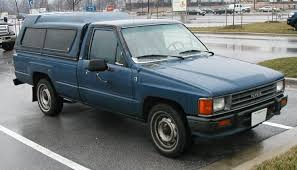 toyota truck shell blue toyota up truck with brahma cer shell bought