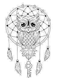 coloring page for adults owl printable owl coloring pages for kids adult color animal free owl