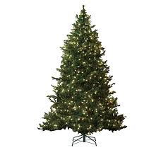 bethlehem lights 7 5 prelit led baby pine slim tree clr qvc